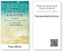 What are Christmas and Easter All About eBook Cards (pack of 25)