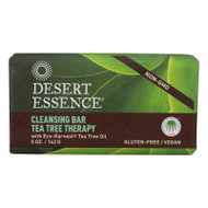Desert Essence Bar Soap - Tea Tree Therapy - 5 Oz
