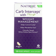 Natrol Carb Intercept with Phase 2 Starch Neutralizer - 120 Capsules