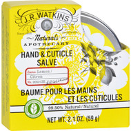J.R. Watkins Hand and Cuticle Salve - Lemon - 2.1 oz