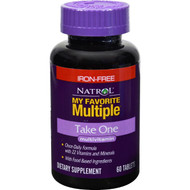 Natrol My Favorite Multiple Take One No Iron - 60 Tablets
