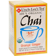 Uncle Lee's Tea Og1 Orng Ginger Chai - 18 Bags