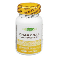 Nature's Way Activated Charcoal Hi Potency - 100 Caps
