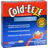 Cold-EEZE Cold Remedy Lozenges Strawberries and Cream - 18 Lozenges