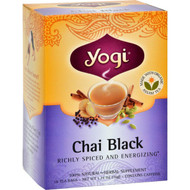Yogi Tea Chai Black - Caffeine - 16 Tea Bags