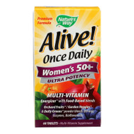 Nature's Way Alive! Once Daily Women's 50 plus - 60 Tablets