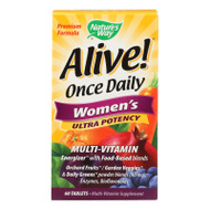Nature's Way Alive! Once Daily Women's Multi-Vitamin Ultra Potency - 60 Tablets