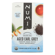 Numi Tea Organic Aged Earl Grey - Black Tea - 18 Bags