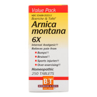 Boericke And Tafel Arnica Montana 6x - 250 Tablets