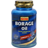 Health From the Sun Borage Oil 300 - 1300 mg - 60 Capsules