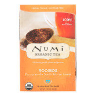 Numi Red Mellow Bush Rooibos Tea - 18 Tea Bags - Case of 6
