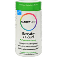 Rainbow Light Everyday Calcium - 120 Tablets