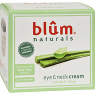 Blum Naturals Eye And Neck Cream - 1.69 Oz