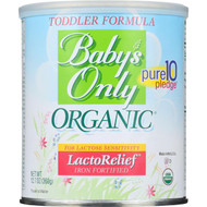 Baby's Only Organics Toddler Formula - Organic Lactose Free - Iron Fortified - 12.7 oz