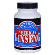 Imperial Elixir American Ginseng - 100 Capsules