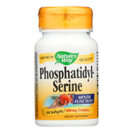 Nature's Way Phosphatidylserine - 60 Softgels