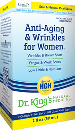 King Bio Anti Aging & Wrinkles For Women 2 oz
