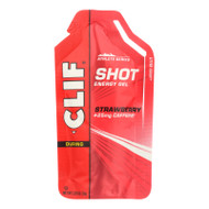 Clif Bar Clif Shot - Organic Strawberry - Case Of 24 - 1.2 Oz