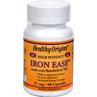 Healthy Origins Iron Ease As Sunactive - 27 Mg - 60 Capsules