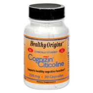 Healthy Origins Cognizin Citicoline - 250 Mg - 30 Capsules