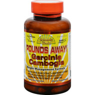 Dynamic Health Pounds Away with Garcinia Cambogia - 90 Vegetarian Capsules
