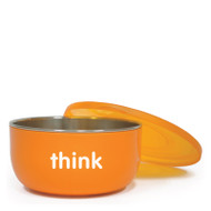 Thinkbaby BPA Free Ceral Bowl - Orange - Count