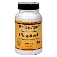 Healthy Origins Ubiquinol - 300 mg - 60 Softgels