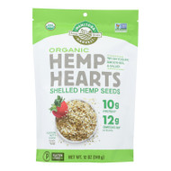 Manitoba Harvest Certified Organic Shelled Hemp Seed- Case of 6 - 12 oz