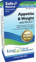 King Bio Appetite & Weight Control with P.H.A.T. 2 oz