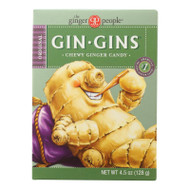 Ginger People Gin Gins Chewy Ginger Candy - 4.5 Oz - Case Of 12