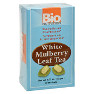 Bio Nutrition Tea - White Mulberry - 30 Bags