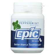 Epic Dental Mints - Spearmint Xylitol Bottle - 180 ct