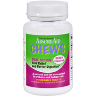 Absorbaid Digestive Chews - Berry Flavor - 90 Tablets