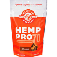 Manitoba Harvest Hemp Pro 70 - Chocolate - 11 Oz