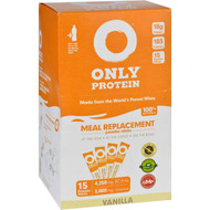 Only Protein Meal Replacement - Whey - Packets - Vanilla - 15 Count