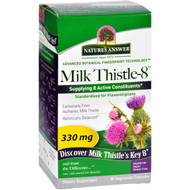 Nature's Answer Milk Thistle - Liquid Capsules - 330 Mg - 90 Veg Capsules