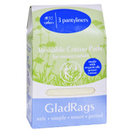 Gladrags Pantyliner - Plus - Cotton - Organic - 3 Pack
