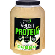 Bodylogix Protein Powder - Vegan Plant Based - Vanilla Bean - 1.85 Lb