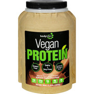 Bodylogix Protein Powder - Vegan Plant Based - Dark Chocolate - 1.85 Lb
