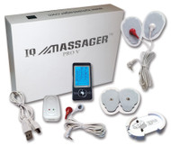 IQ Massager Pro V, Black (Buy one, get one Free!)