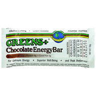 Greens Plus Plusbar Energy Bar - Chocolate - 2.08 Oz Bars - Case Of 12