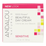 Andalou Naturals Beautiful Day Cream - 1000 Roses - 1.7 Oz
