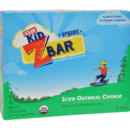 Clif Kid Zbar - Organic - Iced Oatmeal Cookie - 7.62 Oz - Case Of 12