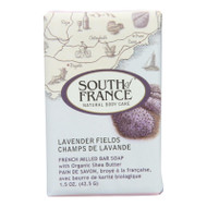 South Of France Bar Soap - Lavender Fields - Travel - 1.5 Oz - Case Of 12