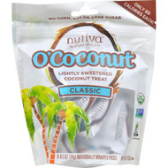 Nutiva Ococonut Snack - Organic - Classic - 4 Oz - Case Of 8