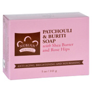 Nubian Heritage Bar Soap - Patchouli And Buriti - 5 Oz
