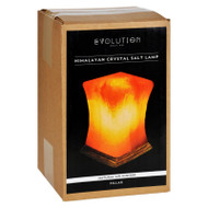 Evolution Salt Crystal Salt Lamp - Pillar - 1 Count