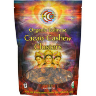 Earth Circle Organics Cacao Cashew Clusters - Organic - Balinese Raw - 8 Oz