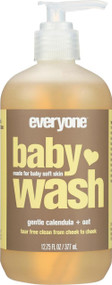 Eo Baby Wash - Calendula Oat - Case Of 1 - 12.75 Fl Oz.