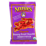 Annie's Homegrown Organic Bunny Fruit Snacks - Berry Patch - .8 Oz - Case Of 18